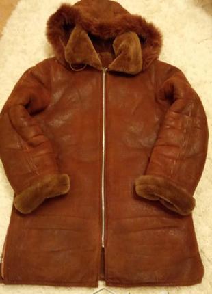 Дублёнка зимняя 48 -50 размер