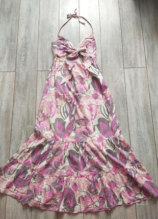 Новое длинное платье сарафан н&м 44-46р