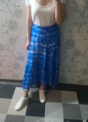 Новая длинная юбка н&м 46-48р вискоза