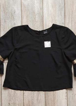 Новая шикарная блузка 46-48р швеция