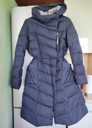 Зимние длинное пальто