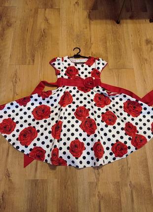 Платье нарядное, 134-140